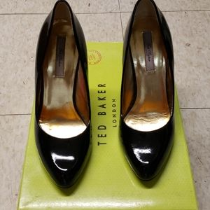 Ted Baker patent pumps